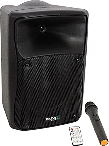 Ibiza MOV8-CD Enceinte Portable 150 W