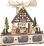 Lampe Weihnachtspyramide Motivlampe Weihnachtsbeleuchtung Dekoration