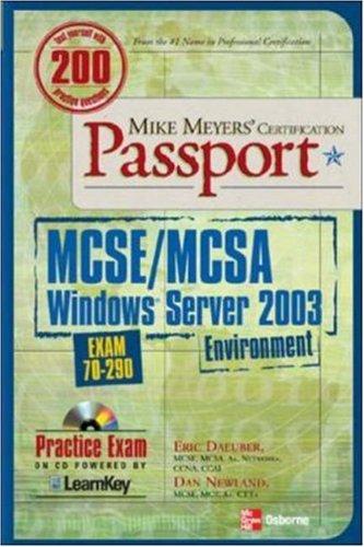 mike-meyers-mcse-mcsa-windows-server-2003-environment-certification-passport-exam-70-290