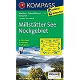 Millstätter See - Nockgebiet: Wanderkarte mit Kurzführer, Radrouten, alpinen Skirouten und Panorama. GPS-genau. 1:50000 (KOMPASS-Wanderkarten, Band 63)