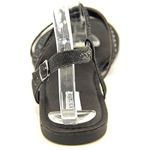 Offener Classificado Slingback Spitze Bastin Sandale Têxtil Preto Não 86qzP1BWq