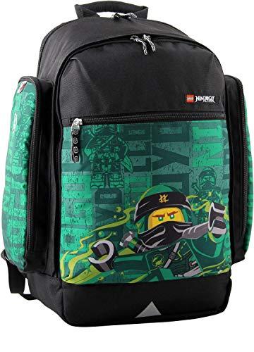 LEGO Bags Mochila Escolar, Energy Verde - 400806467