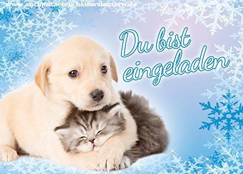 9-einladungskarten-zum-kindergeburtstag-hund-katzen-baby-party-geburtstag-2