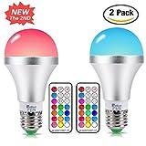 LED RGBW Lampe mit Fernbedienung