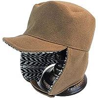Gorros Gorro De Sombreros Gorras Calentar Cálido Unisex Beanie Otoño E Invierno Lindo Calor Protección Auditiva Gorro Exterior ZHANGGUOHUA (Color : Brown)
