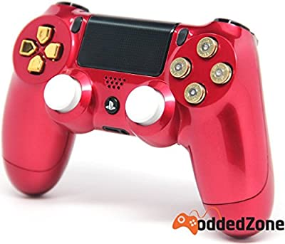 """Bullet Iron Man"" Ps4 Modded Controller 35 mods BO2, BO3, Advanced Warfare, Destiny, Ghosts, MW3 Rapid Fire QUICKSCOPE, JITTER, DROP SHOT, AUTO AIM ZOMBIE"