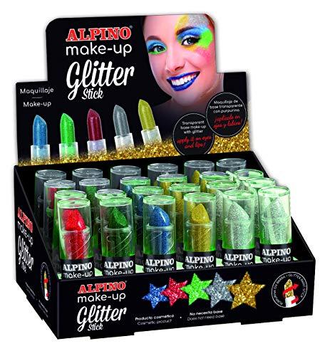 Alpine dl000074-Anzeige der 24Bars Glitter Stick (reinigen und praktisches, einziehbares System und Rotary), 1Einheit -