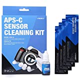 UES DSLR Digital Camera APS-C Frame (CCD/CMOS) Sensor Cleaning Swab Kit