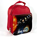 Best Kids Lunches On The Planets - Personalised Solar System Planets Sh240 Red Childrens Insulated Review
