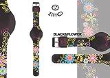Zitto! Reloj de Chica in Silicone Colección Limited cod. BLACKFLOWER-P