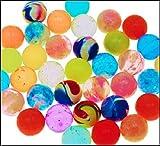Grill-Poker-Kostüm-Shop 50 x Flummi 20 mm Wurfmaterial Fasching Karneval Fastnacht