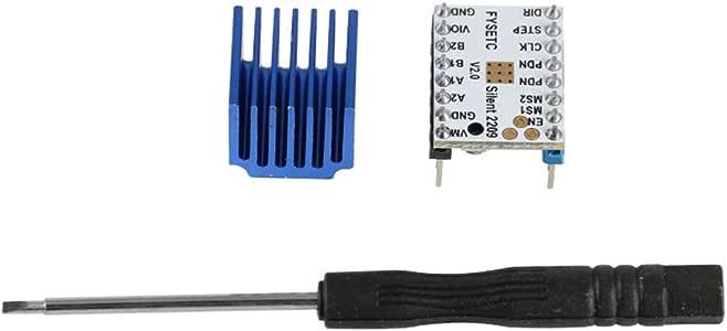 DishyKooker TMC2209V2.0 Pilote pas /à pas de moteur pas /à pas Stepstick 256 segments de limprimante 3D 5pcs