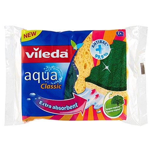 Vileda - Glitzi Universal, esponja, 6 paquetes de 2 [12 esponjas]