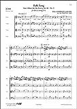 FLEX EDITIONS SCHUMANN R. - FOLK SONG - OBOE AND STRING TRIO Klassische Noten Ensemble und Orchester Streichensemble