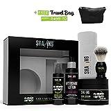 #10: Shaving Station - free travel Bag -  Paraben & Sulphate Free - Thai Kafir Lime & bergamot  - 5 items included