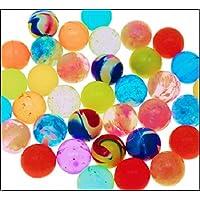 192 Stück Bälle Plastik Kinder Tombola Wurfmaterial gelb POSTEN 48 24 96