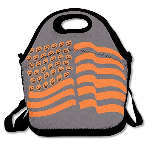 bis Flagge US Lunch Bag Handtasche Lunchbox für Schule Arbeit Outdoor ()