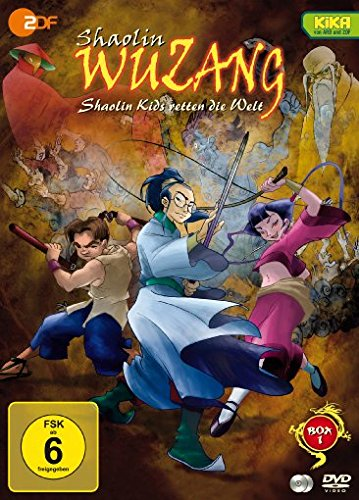 Shaolin Wuzang (Box 1) [2 DVDs]