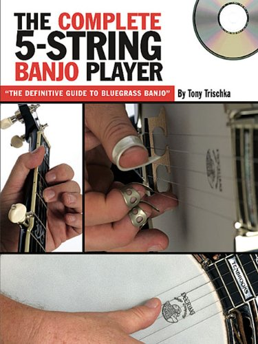 The Complete 5-String Banjo Player (Book & CD): Noten, CD, Lehrmaterial, Grifftabelle für Banjo (Grv)