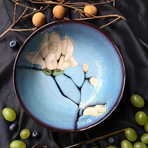 Tery Kreative Geschirr Keramik Flache schüssel reisschüssel nudelsuppe schüssel nach Hause obstsalatschüssel ramenschüssel instant-nudelschüssel Catering Küchenschüsseln