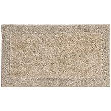 Grund Certified 100% Organic Cotton Reversible Bath Mat, Puro Series, 17-Inch by 24-Inch, Driftwood