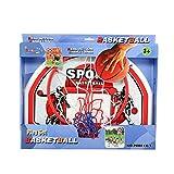 Hamleys Wall Basketball Hoop, Multi Colo...