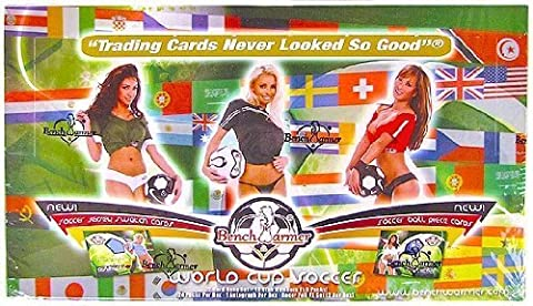 2006 Benchwarmer World Cup Soccer Trading Card Box by Bench Warmer