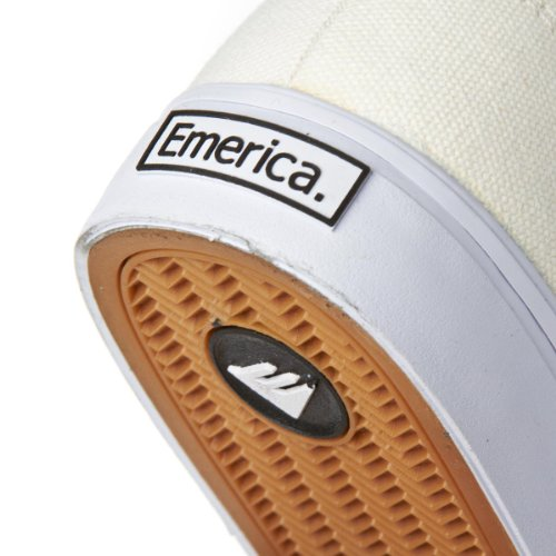 Emerica The Reynolds Cruiser, Baskets mode homme Weiß
