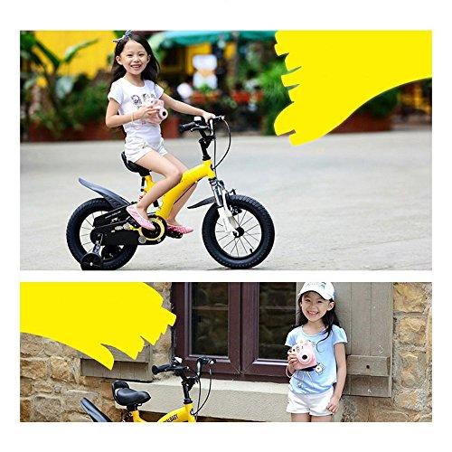 ZXC Vélo enfant, 3-6 ans Enfant bébé Poussette petite fille Vélo de montagne 14/12/16 Pouce Rouge