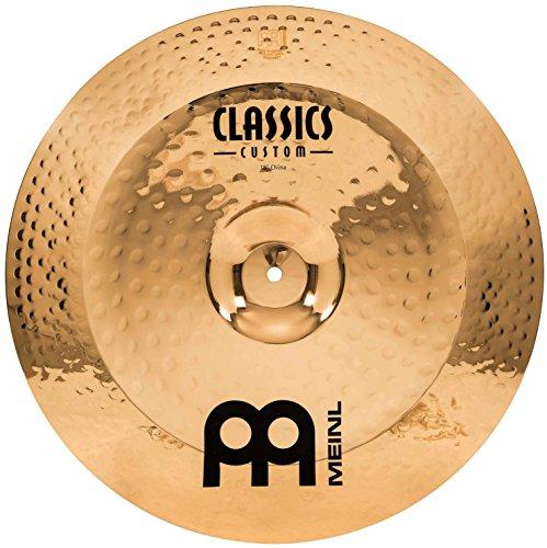 Meinl Cymbals CC18CH-B Classics Custom Serie 45,72 cm (18 Zoll) China Brilliant Finish Becken (Meinl Classics Custom)