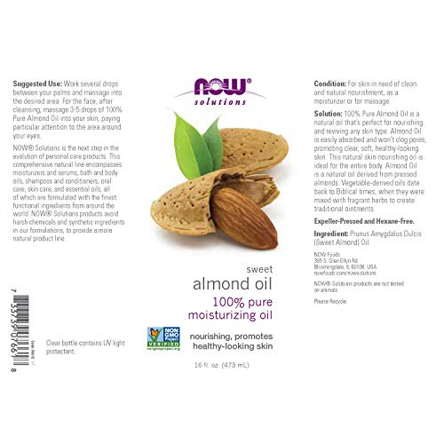 Zoom IMG-1 now solutions sweet almond oil