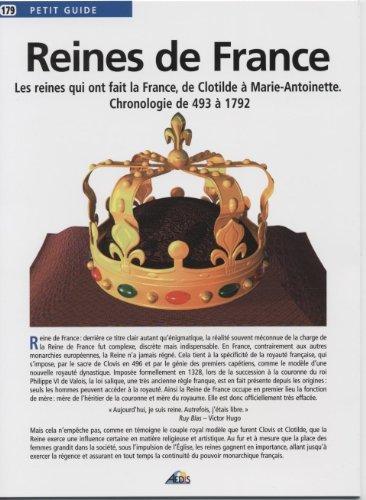 Reines de France : Chronologie de 493 à 1792 by Collectif (2006-07-01) par Collectif