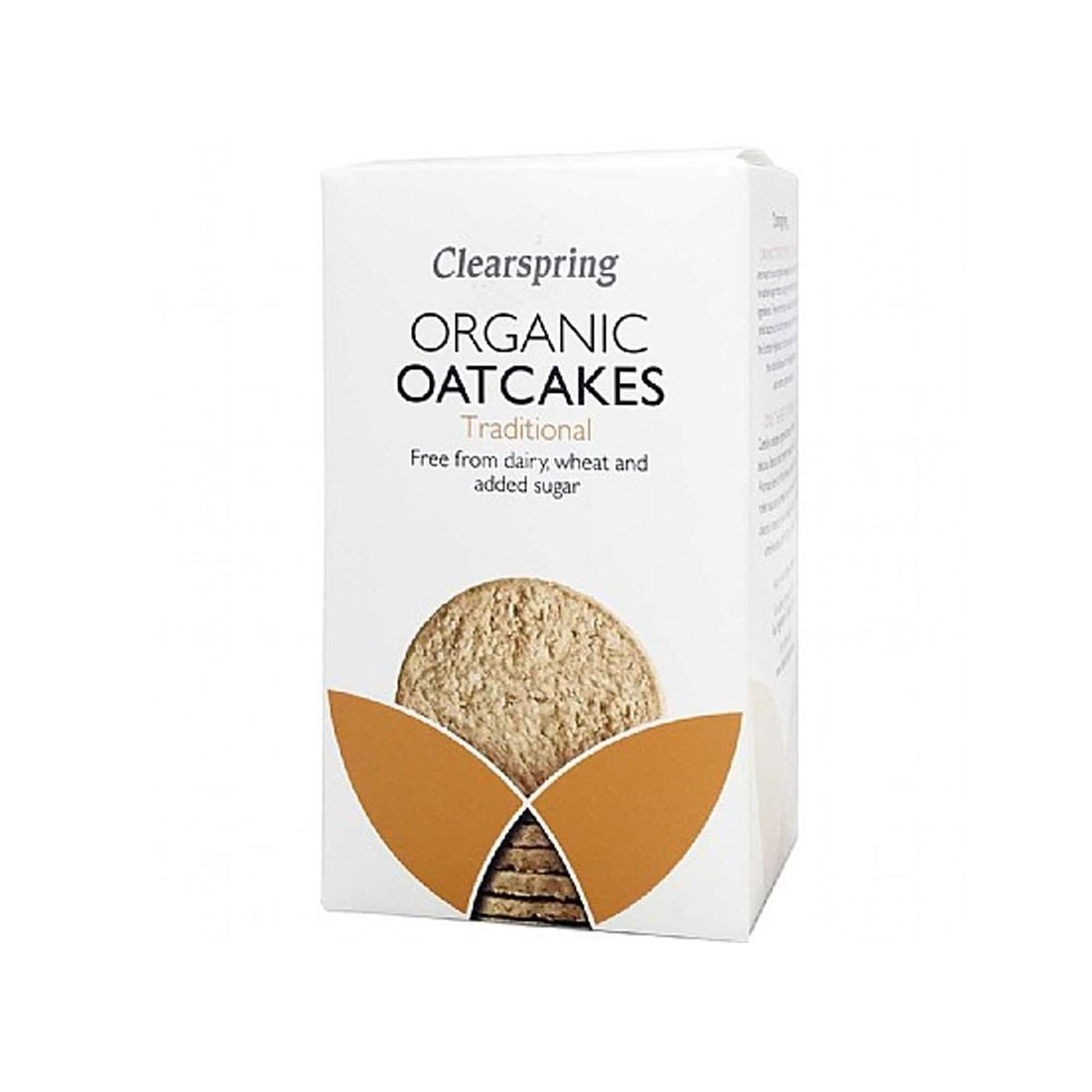 Clearspring | Oatcakes, Traditional, Organic | 12 x 200g