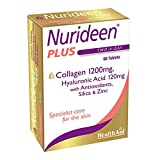 HealthAid Nurideen Plus Tablets to Promote Healthy Skin, Hair and Nails (60 Tablets)