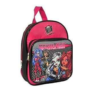 Kids Monster High Mochila Infantil, Negro y Rosa