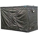 Quictent® Reflective 300x150x200cm Mylar Hydroponics Grow Tent Hydro Room Box Indoor