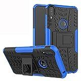 Labanema Zenfone Max Pro ZB601KL /ZB602KL Coque, Etui Housse Coque Shockproof Robuste Impact Armure Hybride Béquille Cover pour ASUS Zenfone Max Pro(M1) ZB601KL /ZB602KL - Bleu