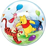 "Qualatex 33086 ""Single Winnie The Pooh & Friends 1"" Bubble Balloon, 22-Inch"