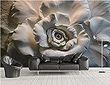Malilove Custom 3D Stereo Reliefs Rosen Fernseher Sofa Hintergrund Wandbilder Tapeten für Wände 3d Wohnzimmer Schlafzimmer Foto Wallpaper