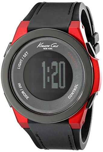 Kenneth Cole New York unisex 10022807 KC connect- tecnologia digitale display nero orologio al quarzo giapponese