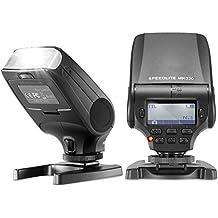 Neewer - MK320 TTL Display LCD LED-Assistive Anteprima Fuoco Flash Speedlite per Panasonic Lumix DMC GF7 GM5 GH4 GM1 GX7 G6 GF6 GH3 G5 GF5 GX1 GF3 G3, Olympus OM-D E-M5 II E-M10 E-M1 PEN E-PL7 E-P5 E-PL6 E-PL5 E-PM2 E-P3 E-PL3 E-PM1 E-PL2