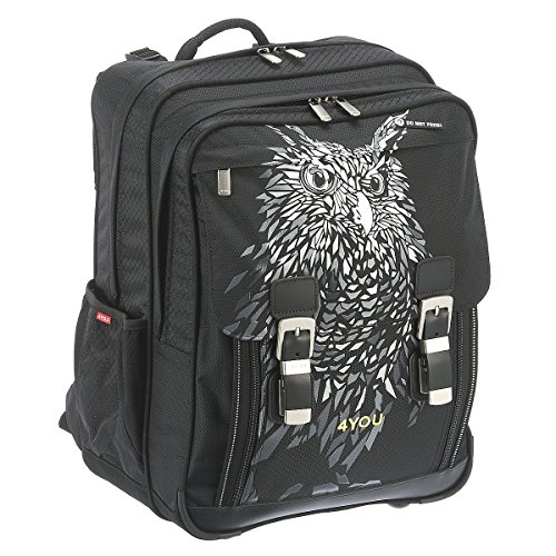 4 You Flash Limited Edition 46 Schulrucksack Classic Plus mit Laptopfach 43 cm Owl