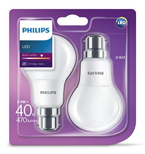 philips-ampoule-led-55-w-40-w-a60-b22-a-baionnette-blanc-chaud-givre-lot-de-2-b22-5-watts-lot-de-2
