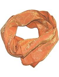 Satin-Stola / Schultertuch, schlicht, ca 145 x 42 cm, eine Seite glänzend, eine matt, schöner Schimmer
