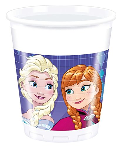schirr Frozen Snowflakes, Becher, One Size (Elsa Birthday Party Supplies)