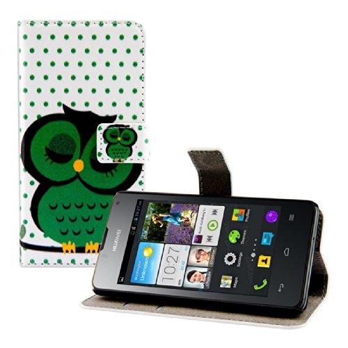 kwmobile-wallet-case-custodia-a-portafoglio-per-huawei-ascend-y300-custodia-flip-cover-in-design-civ