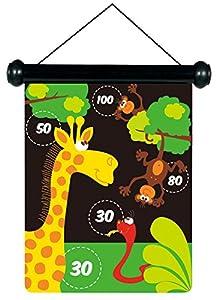 Scratch Rasguño - Zoo Juego de los Dardos magnéticos - Multicolor