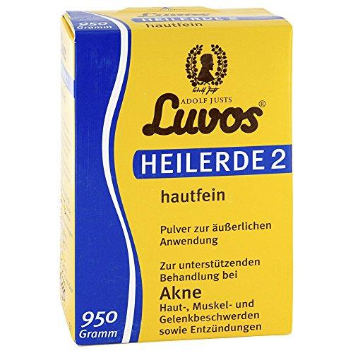 Luvos Heilerde 2 - hautfein, 950g