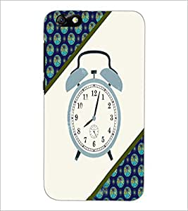 PrintDhaba Alarm Watch D-4268 Back Case Cover for HUAWEI HONOR 4X (Multi-Coloured)