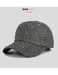 TXD Hat Durante la Primavera y el Oto o Invierno Gorras Ni os Vogue Corea  Corea caubeen Gorra de b¨¦isbol una Tapa… a45560d2eee